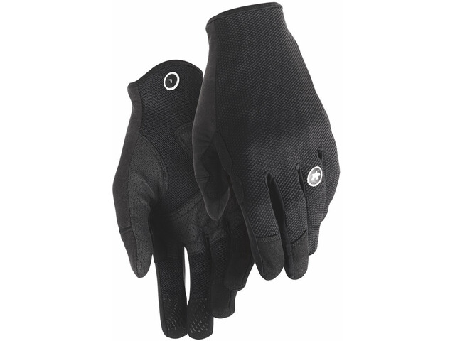assos Trail Full Finger Gloves black series
